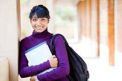 Indischer School-Kursteilnehmer Lizenzfreie Stockfotografie