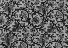 Indischer schwarzer Batik. Lizenzfreies Stockbild
