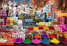 Indischer Shop Stockfotos