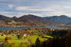 Indischer Sommer im Bayern Lizenzfreies Stockfoto