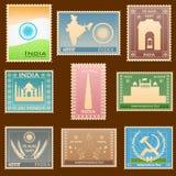 Indischer Stempel Lizenzfreies Stockfoto