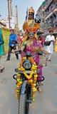 Indischer Swag lizenzfreies stockbild