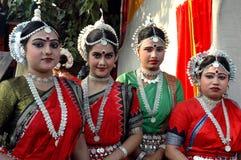 Indischer Tänzer Stockfotografie