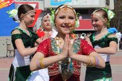Indischer Tanz Stockfotos
