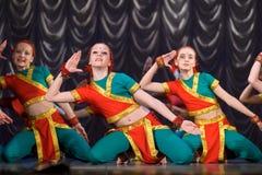 Indischer Tanz stockfotografie