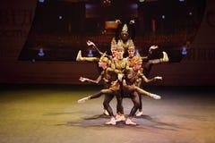 Indischer Tanz am Konzert Gennady Ledyakh der Schule Lizenzfreies Stockbild