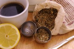 Indischer Tee Stockbild
