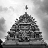 Indischer Tempel - einfarbig Stockbilder