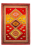 Indischer Teppich Stockfoto