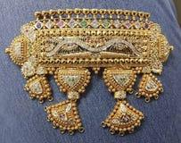 Indischer traditioneller Schmuck lizenzfreie stockfotos
