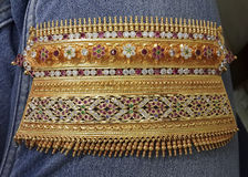 Indischer traditioneller Schmuck stockfoto