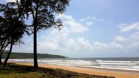 Indischer tropischer Strand lizenzfreie stockbilder