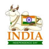 Indischer Unabhängigkeitstag Stockfotografie