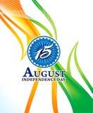 Indischer Unabhängigkeitstaghintergrund Lizenzfreie Stockfotos