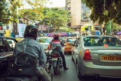 Indischer Verkehr lizenzfreies stockfoto