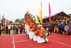 Indischer Volkskünstler Stockfotos