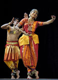 Indischer Volkstanz: Tillana Stockfotografie