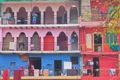 Indischer Wohnungs-Block Lizenzfreie Stockfotos