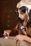 Indisches Ausschnittholz Stockfotografie