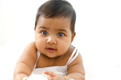 Indisches Baby Lizenzfreie Stockfotografie
