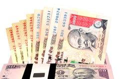 Indisches Bargeld Stockbilder