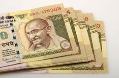 Indisches Bargeld lizenzfreies stockbild