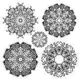 Indisches dekoratives Muster des Vektors Lizenzfreies Stockbild
