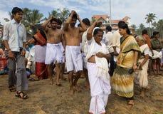 Indisches Festival, zum der Toten zu gedenken Stockfotos