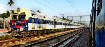 Indisches Gleis Lizenzfreie Stockfotografie