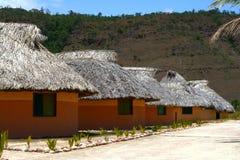 Indisches Hütte canaima lizenzfreie stockbilder