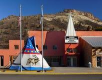 Indisches Hauptkasino, Warm Springs, Oregon lizenzfreies stockbild