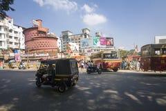 Indisches Kaffeehaus Maveli-Café, Thiruvananthapuram Lizenzfreies Stockbild
