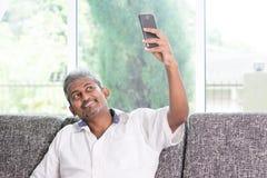 Indisches Kerl selfie Lizenzfreie Stockfotografie