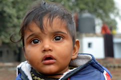 Indisches Kind lizenzfreies stockbild