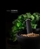 Indisches Kochen Stockfotografie
