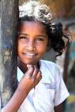 Indisches landwirtschaftliches Mädchen Lizenzfreie Stockfotografie
