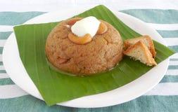 Indisches Lebensmittel-Brot Halwa Stockfotos