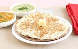 Indisches Lebensmittel Dosa Stockbilder