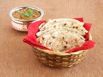 Indisches Lebensmittel Kulcha Lizenzfreie Stockfotografie