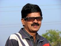 Indisches Mann-Portrait lizenzfreie stockfotos