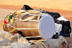 Indisches musikalisches instrument'dhol Lizenzfreie Stockfotos