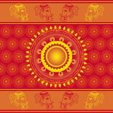 Indisches Muster Lizenzfreie Stockbilder