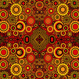 Indisches orientalisches helles Muster des Vektors Lizenzfreie Abbildung