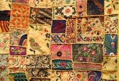 Indisches Patchwork Lizenzfreies Stockfoto