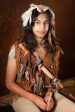 Indisches Portrait Stockbilder