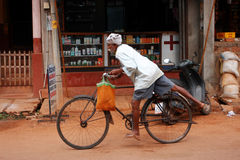 Indisches Radfahren Stockbilder
