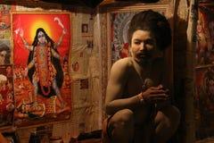 Indisches religiöses Gesicht Lizenzfreie Stockfotografie