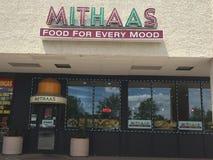 Indisches Restaurant auf Eichen-Straße in Edison New Jersey Stockfoto