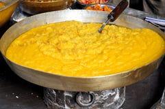 Indisches süßes Halwa Stockfotos