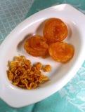 Indisches süßes und wohlschmeckend stockbild